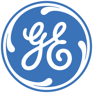 Logo for GE.