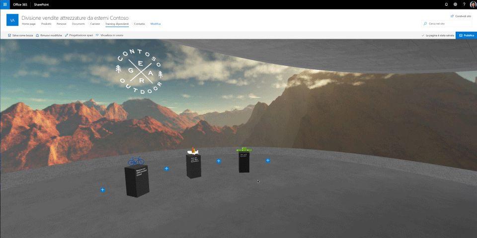 Le funzionalità innovative di SharePoint rivoluzionano la collaborazione sui contenuti con la realtà mista e l'intelligenza artificiale