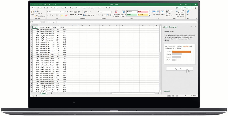 Intelligenza artificiale in Excel: 4 nuove funzionalità annunciate oggi alla conferenza Ignite