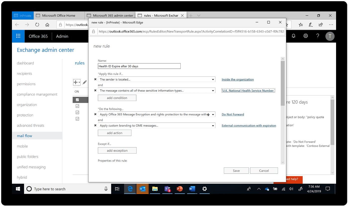 Far crescere e proteggere l'azienda con più controlli per la privacy in Microsoft 365