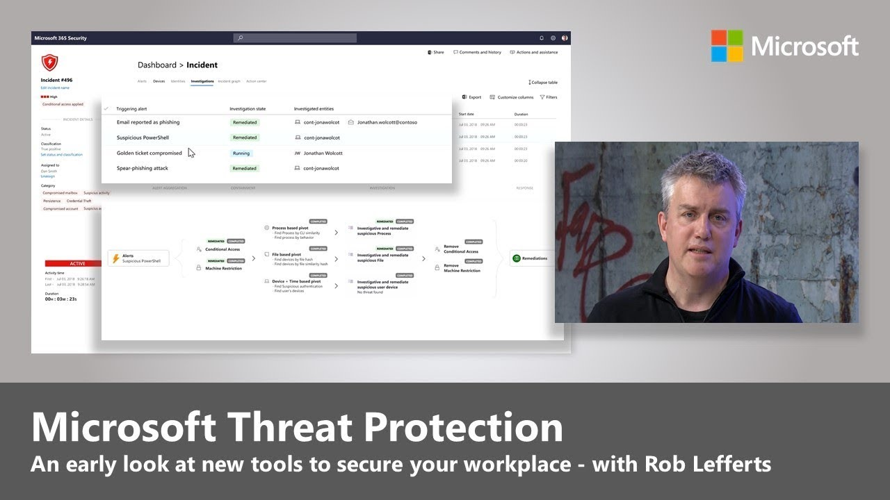 Early look at Microsoft Threat Protection