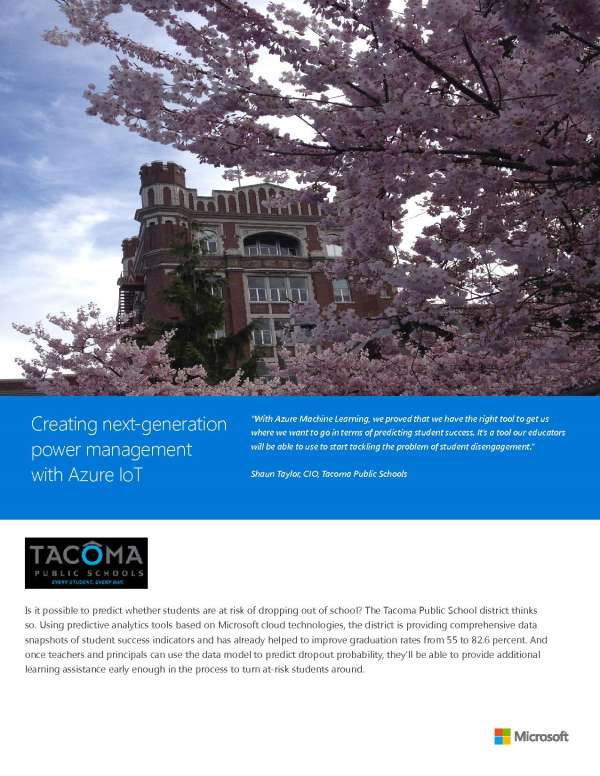 Creating next-generation power management with Azure IoT