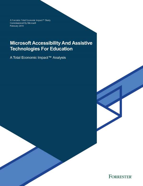 Microsoft accessibility and assistive technologies for education