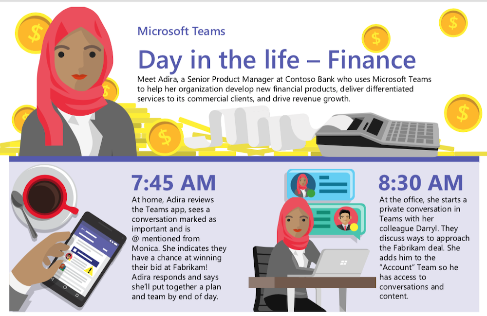 Spend a day in the life with financial pro Adira