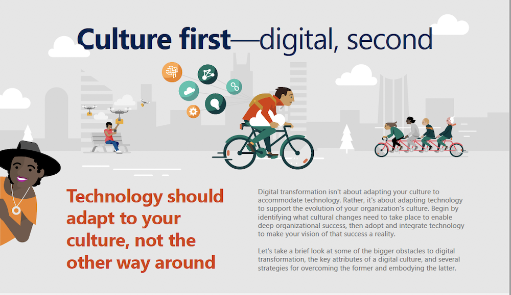 Prioritize culture during digital transformation