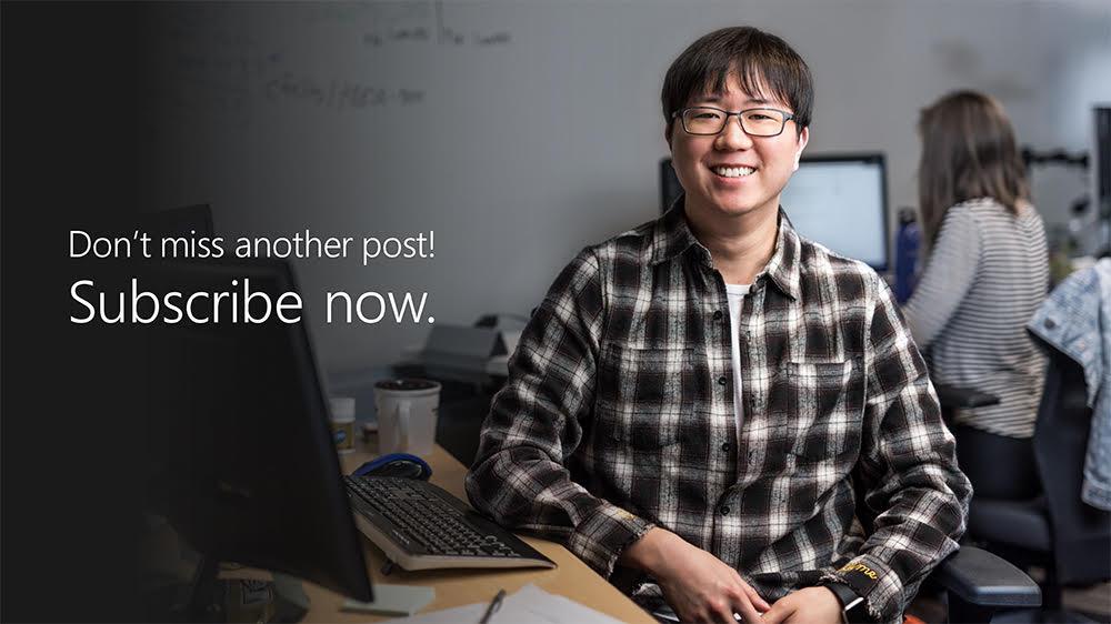 Subscribe today. Be future-ready tomorrow.