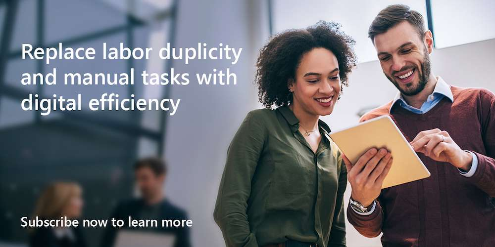 Replace labor redundancy and manual tasks with digital efficiency. Subscribe now to learn more.
