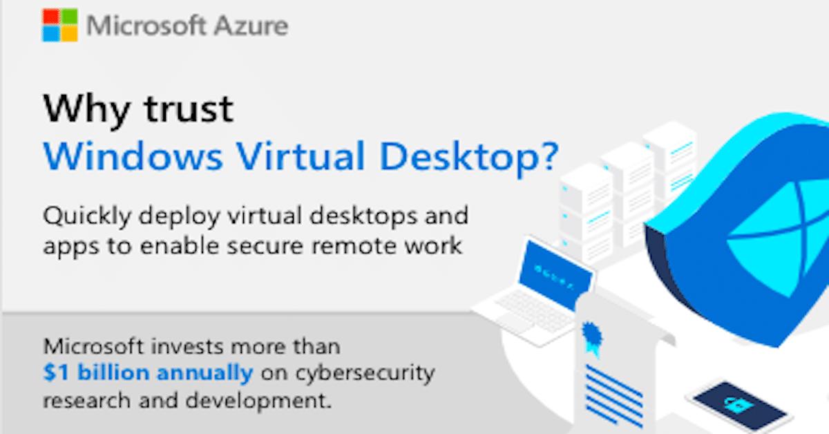 Why Trust Windows Virtual Desktop?