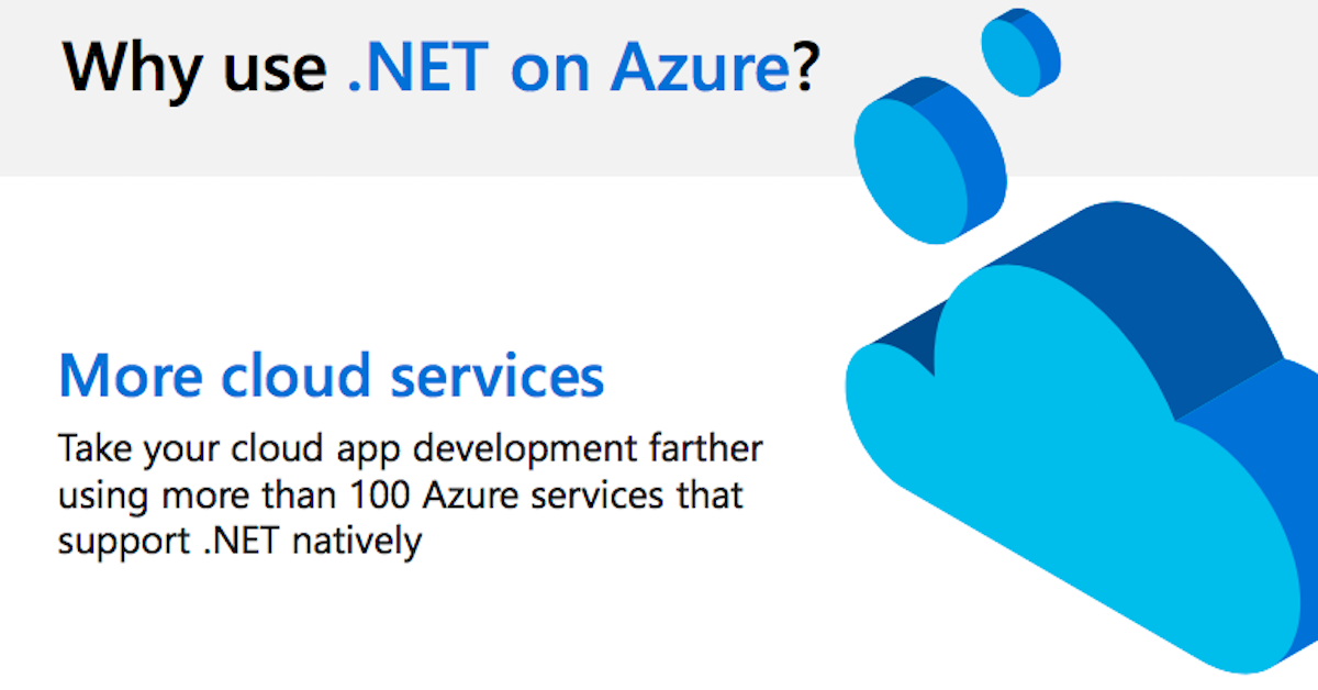 Why use .NET on Azure?