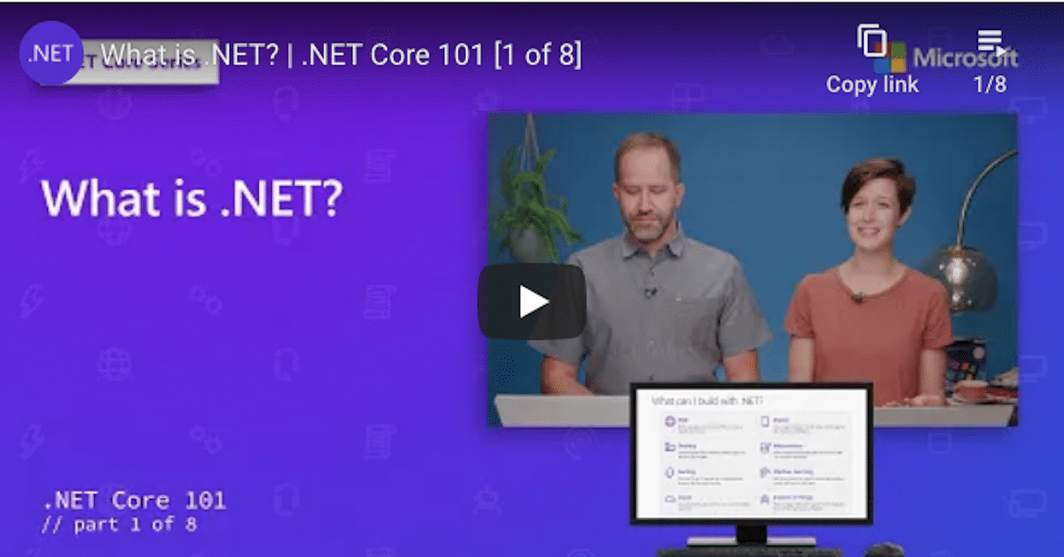 Why choose .NET?