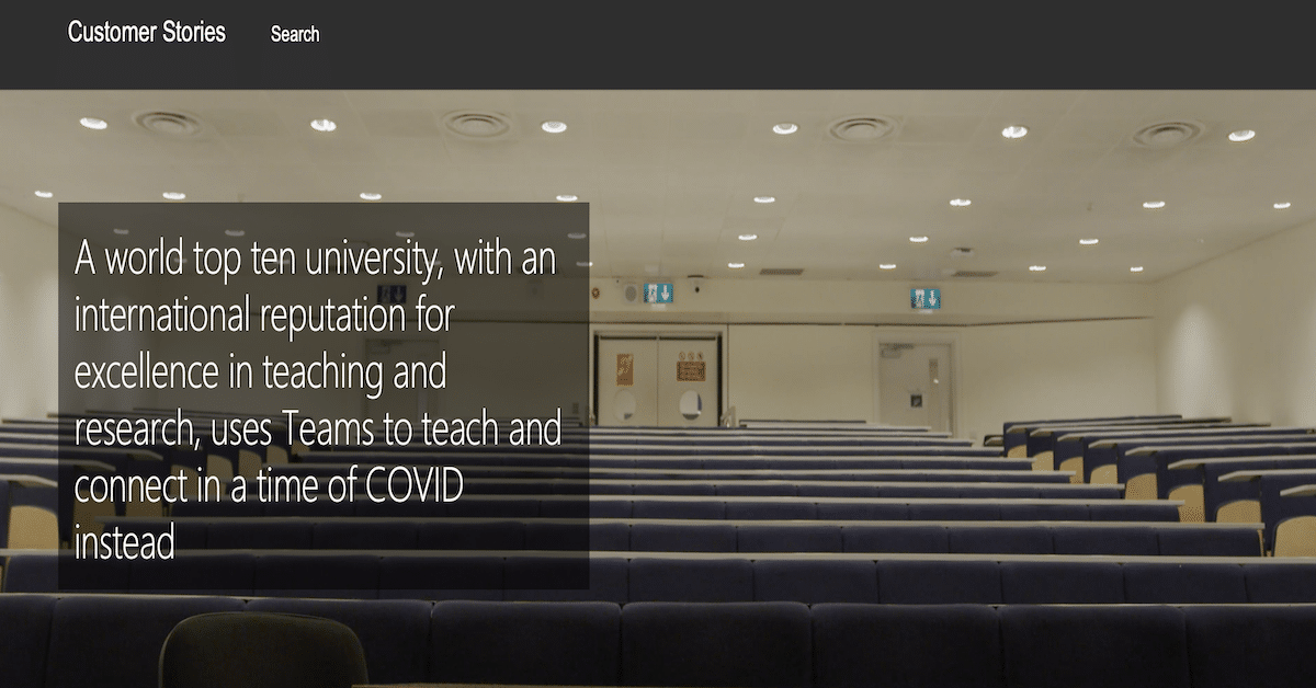 Imperial College London uses Teams to teach and connect in a time of COVID