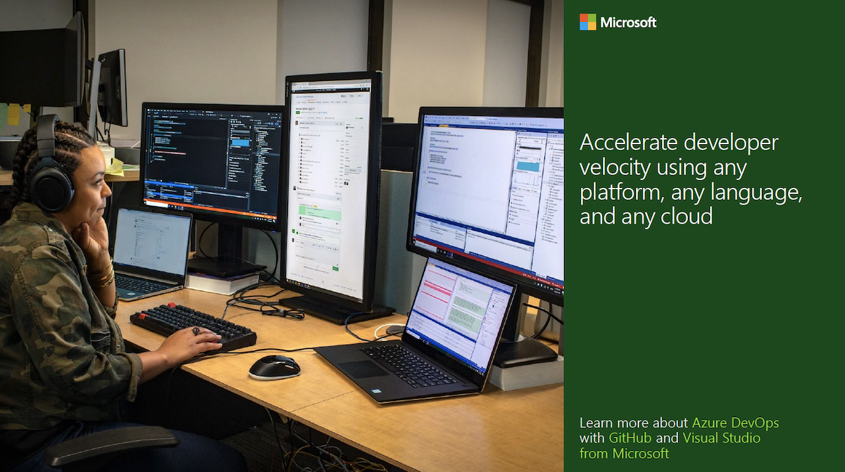 Accelerate developer velocity using any platform, any language, and any cloud