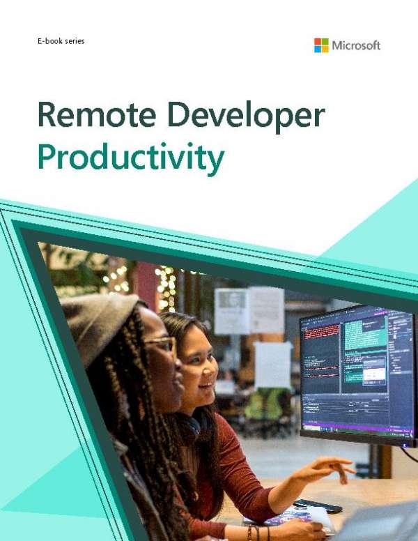Remote developer productivity