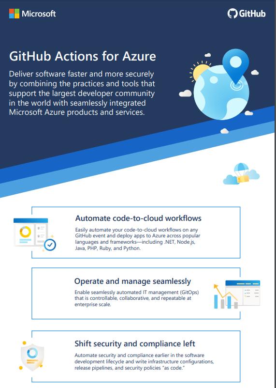 GitHub Actions for Azure